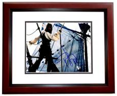 Johnny Depp Signed - Autographed Pirates of the Caribbean 8x10 inch Photo MAHOGANY CUSTOM FRAME - Guaranteed to pass PSA or JSA - Whitey Bulger Story