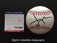 Johnny Depp Signed Baseball Psa Dna Coa Autograph