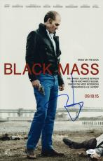 Johnny Depp Signed Black Mass 11x17 Movie Poster Jsa Coa L87299