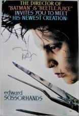 JOHNNY DEPP signed Edward Scissorhands 20x30 Photo PSA/DNA
