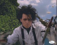 Johnny Depp Signed 'edward Scissorhands' 8x10 Photo Autograph Jsa Coa
