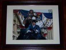 Johnny Depp Signed Photo JSA COA Pirates of the Caribbean 4