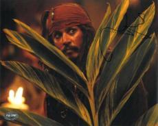 Johnny Depp Signed Pirates of the Caribbean 8x10 Photo (PSA/DNA) #J64854