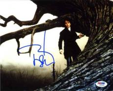 Johnny Depp Sleepy Hollow Autographed Signed 8x10 Photo Certified PSA/DNA AFTAL