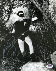 Johnny Duncan Batman Robin 40`s Psa/dna Signed 8x10 Photo Authentic Autograph