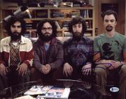 Johnny Galecki The Big Bang Theory Signed 11X14 Photo BAS #B73754
