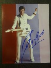 JOHNNY HALLYDAY The French Elvis SIGNED AUTOGRAPHED 8X10 PHOTO RARE JIMI HENDRIX