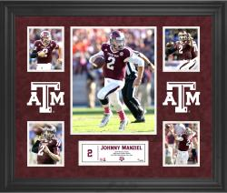 Johnny Manziel Texas A&M Aggies Framed 5-Photo Collage