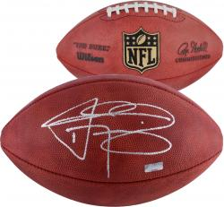 Johnny Manziel Cleveland Browns Autographed Duke Pro Football