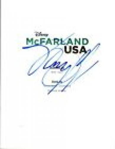 Johnny Ortiz Signed Autographed McFARLAND USA Movie Script COA VD