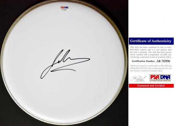 Johnny Rzeznik Signed - Autographed Drumhead - Goo Goo Dolls Lead Singer Drum head - PSA/DNA Certificate of Authenticity (COA)