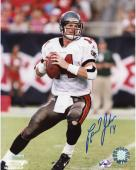 Brad Johnson Tampa Bay Buccaneers Autographed 8'' x 10'' Look Throw Photograph