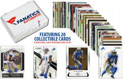 Calvin Johnson Detroit Lions Collectible Lot of 20 NFL Trading Cards - Mounted Memories