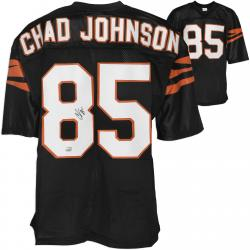 Chad Johnson Cincinnati Bengals Autographed Black Custom Jersey