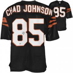 Chad Johnson Cincinnati Bengals Autographed Black Custom Jersey