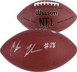 Chris Johnson Tennessee Titans Fanatics Authentic Autographed Replica Football