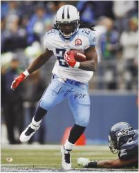 Signed Chris Johnson Photograph - 16x20 Mounted Memories