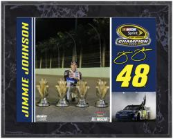Jimmie Johnson 2009 Sprint Cup Champion Championship Plaque - Mounted Memories
