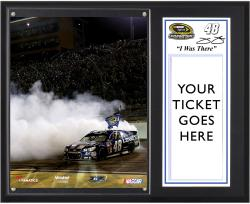 Jimmie Johnson 2013 Sprint Cup Series Champion 12'' x 15'' I WAS THERE Plaque - Mounted Memories