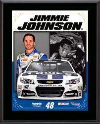Jimmy Johnson Sublimated 10.5'' x 13'' Stylized Composite Plaque - Mounted Memories