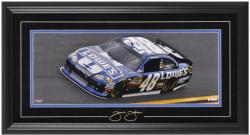Jimmie Johnson Framed Mini Panoramic with Facsimile Signature - Mounted Memories