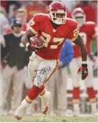 Larry Johnson Kansas City Chiefs Autographed 16'' x 20'' Running Photograph