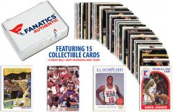 Magic Johnson Los Angeles Lakers Collectible Lot of 15 NBA Trading Cards - Mounted Memories