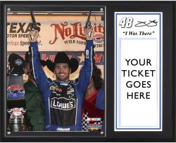 "Jimmie Johnson 2012 AAA 500 Sublimated 12x15 ""I WAS THERE"" Photo Plaque - Mounted Memories"