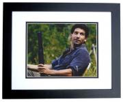 Jon Bernthal Signed - Autographed THE WALKING DEAD 8x10 inch Photo BLACK CUSTOM FRAME - Guaranteed to pass PSA or JSA