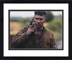 Jon Bernthal Signed 8x10 Photo Fury Walking Dead Beckett Bas Autograph Auto K