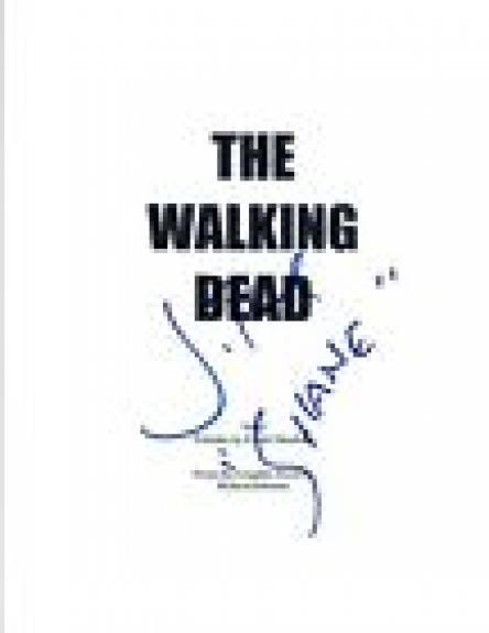 "Jon Bernthal Signed Autograph THE WALKING DEAD Pilot Script ""Shane"" COA VD"