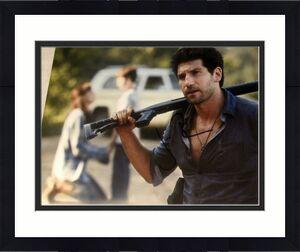 "Jon Bernthal Signed Autograph ""the Walking Dead"" Shane With Shotgun 8x10 Photo"