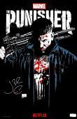 Jon Bernthal Signed Marvel Punisher Netflix Series 20x13 Poster - SDCC