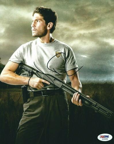 Jon Bernthal Signed 'The Walking Dead' 8x10 Photo PSA AC59296
