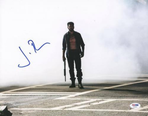 Jon Bernthal The Walking Dead Signed 11X14 Photo PSA/DNA #V20401