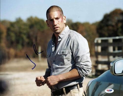 Jon Bernthal The Walking Dead Signed 11X14 Photo PSA/DNA #V24248