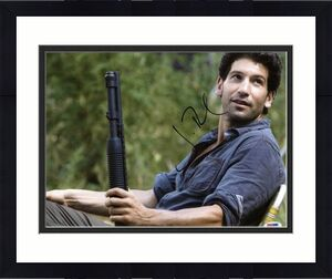 Jon Bernthal The Walking Dead Signed 11X14 Photo PSA/DNA #W79825