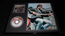 Jon Bon Jovi 16x20 Framed Photo & CD Set
