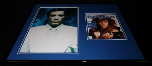 Jon Bon Jovi 16x20 Framed Rolling Stone Cover Display