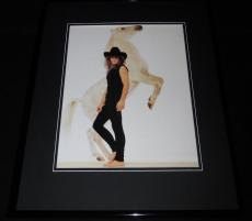 Jon Bon Jovi 1989 Framed 11x14 Photo Poster