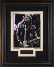 Jon Bon Jovi Autographed 11x14 Concert Photo Framed