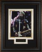 Jon Bon Jovi Autographed 11x14 Concert Photo Framed