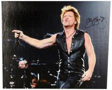"Jon Bon Jovi Autographed 20""x 24"" Horizontal Stretched Canvas - BAS COA"