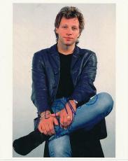 Jon Bon Jovi Autographed 8x10 Photo