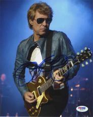 Jon Bon Jovi Autographed Signed 8x10 Photo Certified Authentic PSA/DNA AFTAL COA