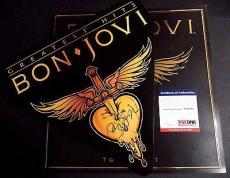 Jon Bon Jovi Music Legend Signed 2011 Tour Cover W/2011 Tour Program Psa/dna Coa