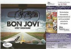 "Jon Bon Jovi Music Legend Signed Autographed ""lost Highway"" Cd Booklet Jsa Coa A"
