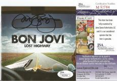 "Jon Bon Jovi Music Legend Signed Autographed ""lost Highway"" Cd Booklet Jsa Coa B"