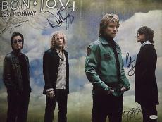 "Jon Bon Jovi Music Legend Signed Autographed ""lost Highway"" Program Jsa Loa Rare"