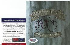 "Jon Bon Jovi Music Legend Signed Autographed ""new Jersey"" Cd Booklet Psa/dna Coa"